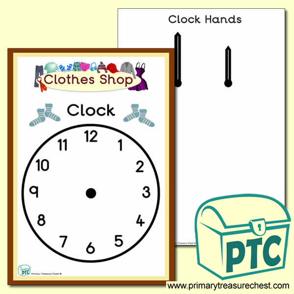 Clothes Shop Role Play Clock