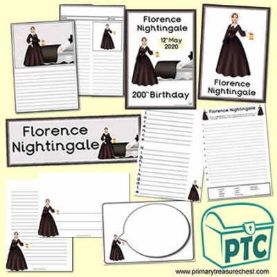 FREE Florence Nightingale Resource Pack