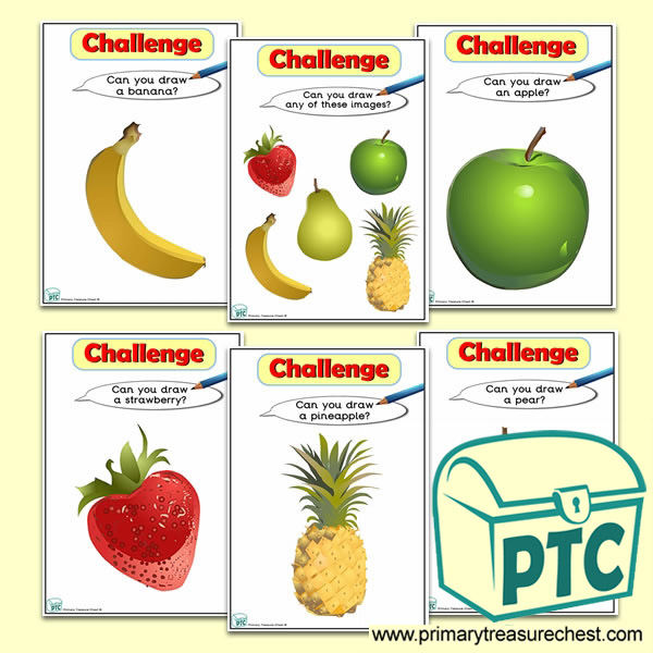 Fruit Themed ICT Challenge Cards