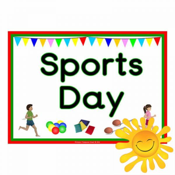 Sports Day' Poster - Primary Treasure Chest