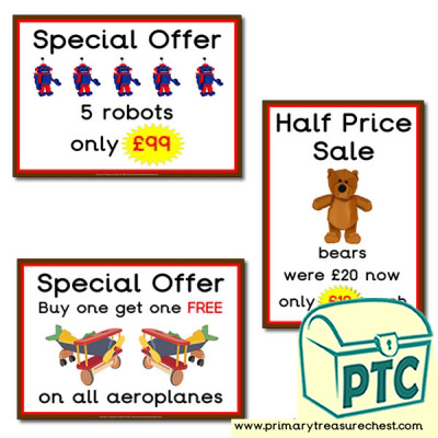 Role Play Toy Shop Special Offers