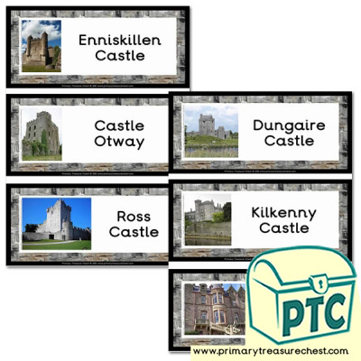 Castles in Ireland Flashcards