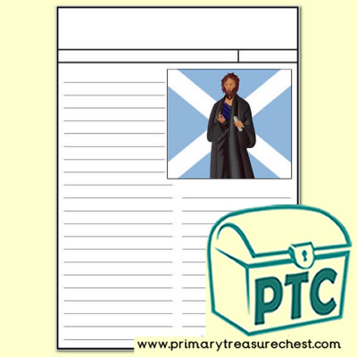 St Andrew's Day Newspaper Worksheet