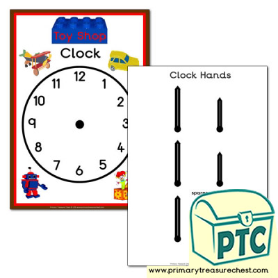 Toy Shop Role Play Clock