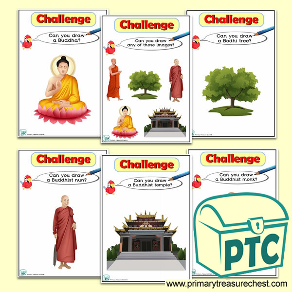 Wesak Themed ICT Challenge Cards