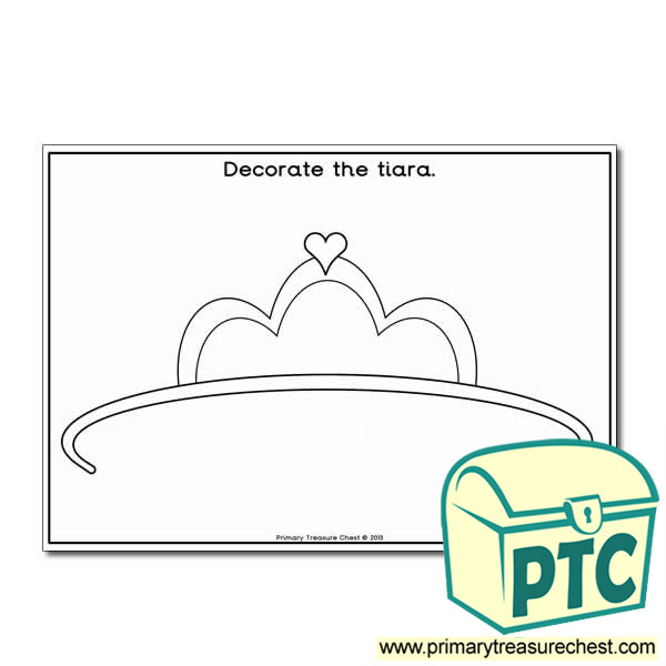Tiara Decoration Worksheet