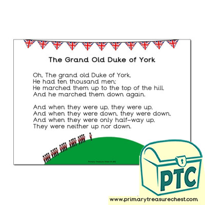 'The Grand Old Duke of York' Song