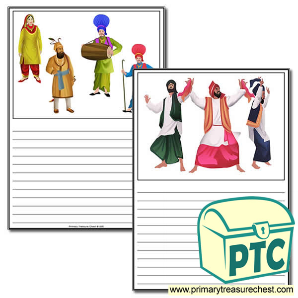 Vaisakhi themed worksheet