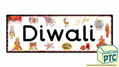 'Diwali' Display Heading/ Classroom Banner