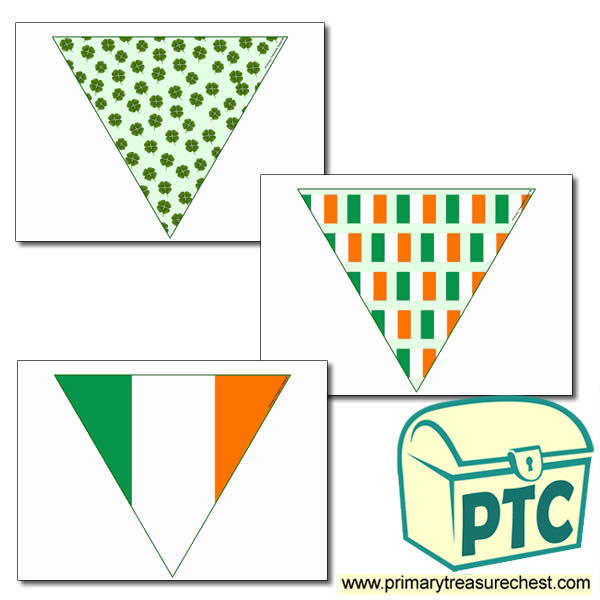'Irish' Themed Bunting