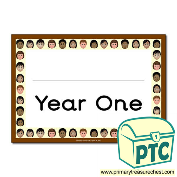 Year One Classroom Door Sign