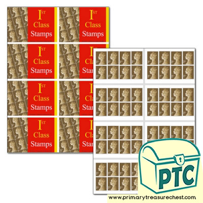 Newsagents 1st Class Book of Stamps