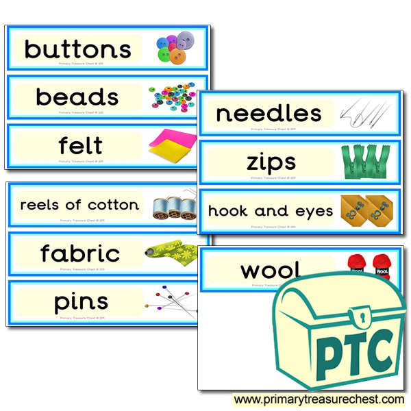 Sewing Drawer Labels (large)
