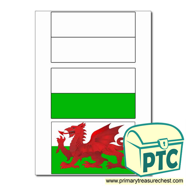 Welsh Flag Sorting Activity