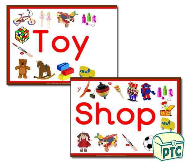 'Toy Shop' Display Heading/ Classroom Banner