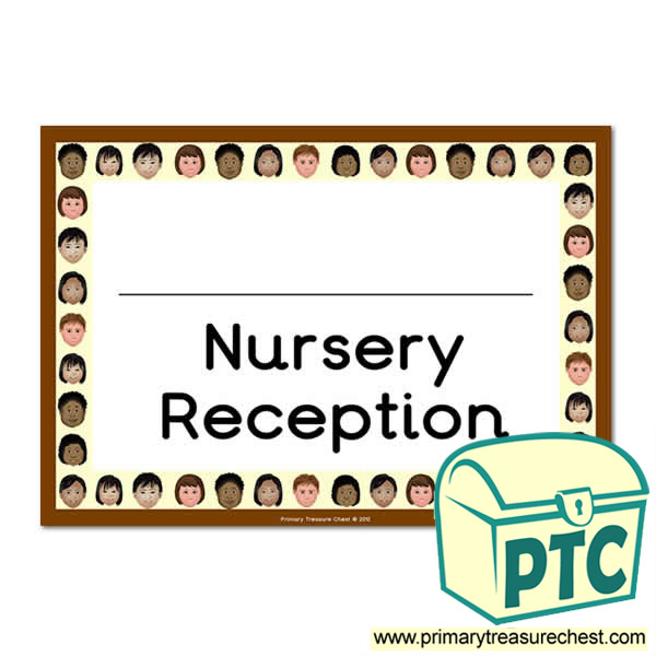 Nursery & Reception Classroom Door Sign
