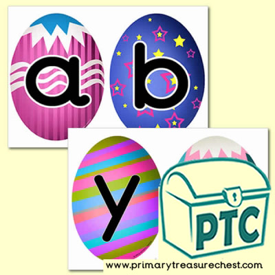 Easter Themed Alphabet Cards