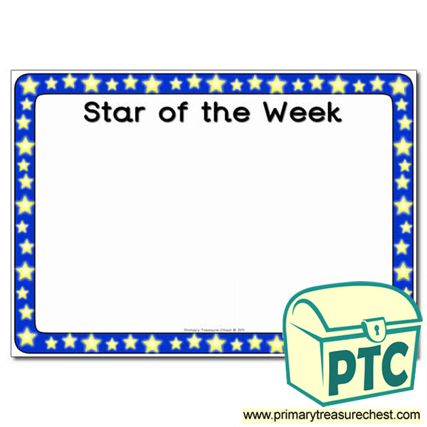 Star of the Fortnight Poster