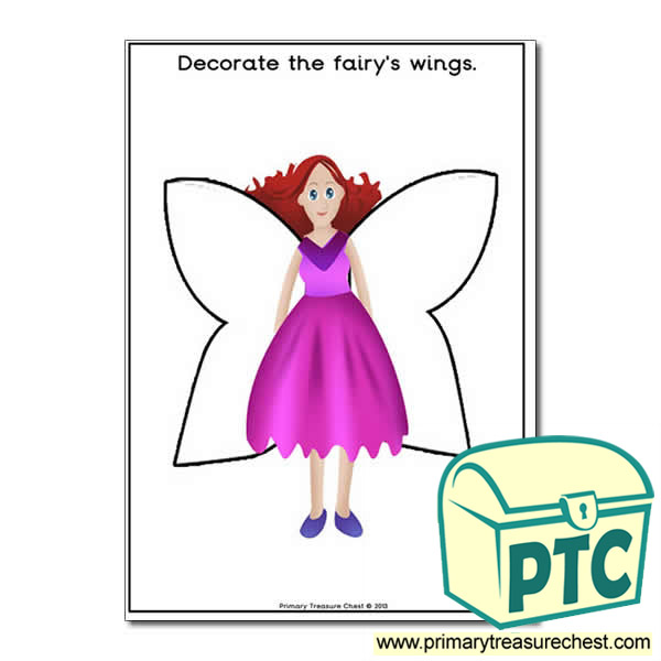Fairy Themed Worksheet