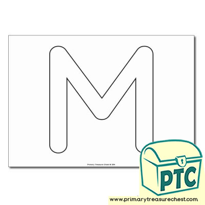 Letter m Themed Pre Writing and Letter Formation Activities