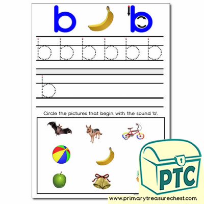 Find the Letter 'b' Pictures