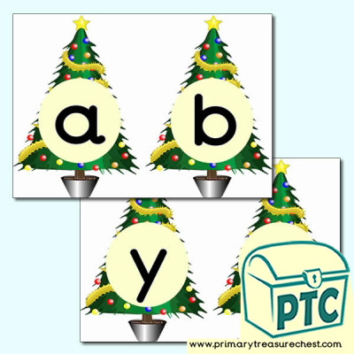 Christmas Tree Alphabet