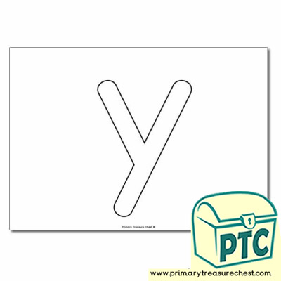 y bubble letter formation activity no images primary treasure chest