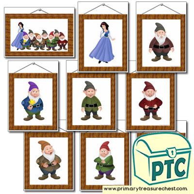 Picture Frames- Snow White and The Seven Dwarfs