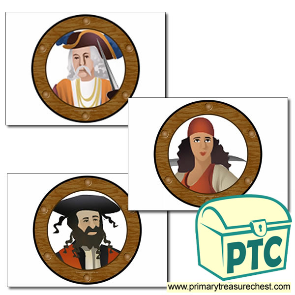 Role Play Pirate Ship Portholes