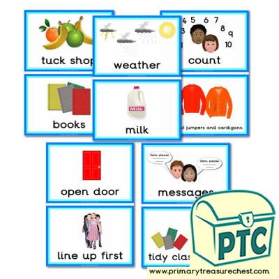 Classroom Activity Cards