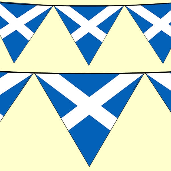 Scottish Flag Bunting
