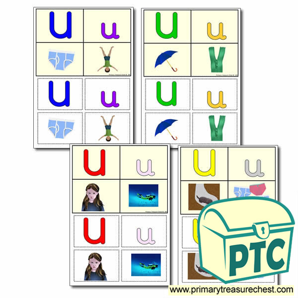 FREE  'u' Themed Lotto/Bingo Game
