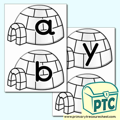 Igloo Alphabet
