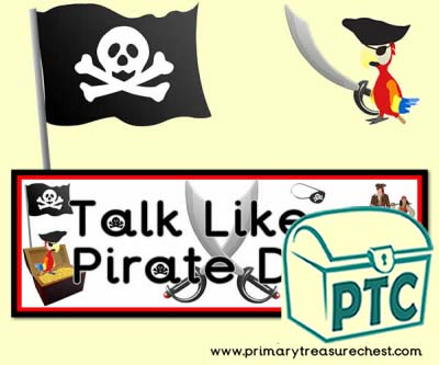 'Talk Like a Pirate Day' Poster