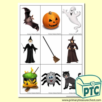 We're Going on a Halloween Hunt Activity Sheet