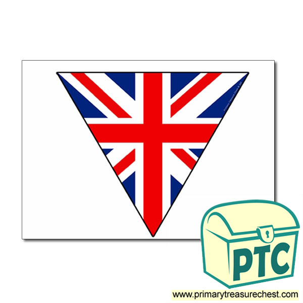 British Flag Bunting Primary Treasure Chest