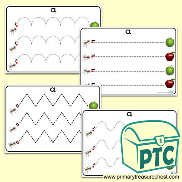 pre primary writing activities