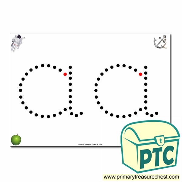 39 a 39 lowercase letter formation activity join the dots 2 per a4 sheet primary treasure chest. Black Bedroom Furniture Sets. Home Design Ideas