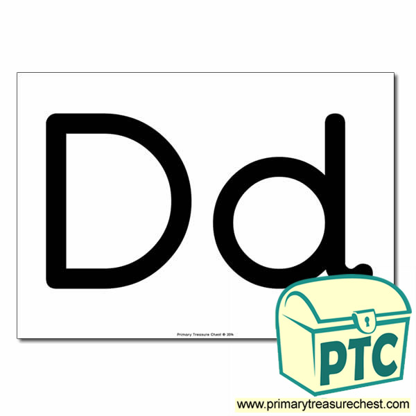 letters dd poster letters and sounds phonics early years