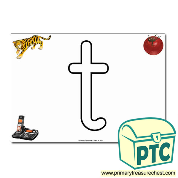 t Bubble Letter Formation Activity – With Primary