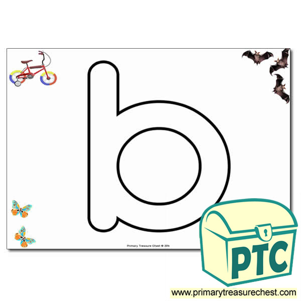 B Bubble Letters Formation Activity With Images Primary