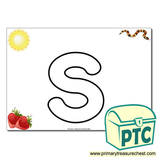 S Bubble Letter Formation Activity With Images Primary Treasure