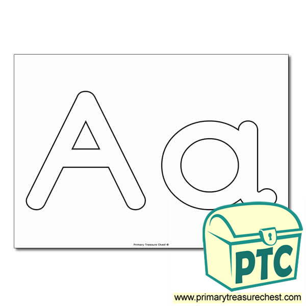 Aa Bubble Letters Formation Activity No Images Primary Treasure