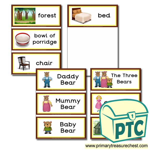 the three bears story pdf