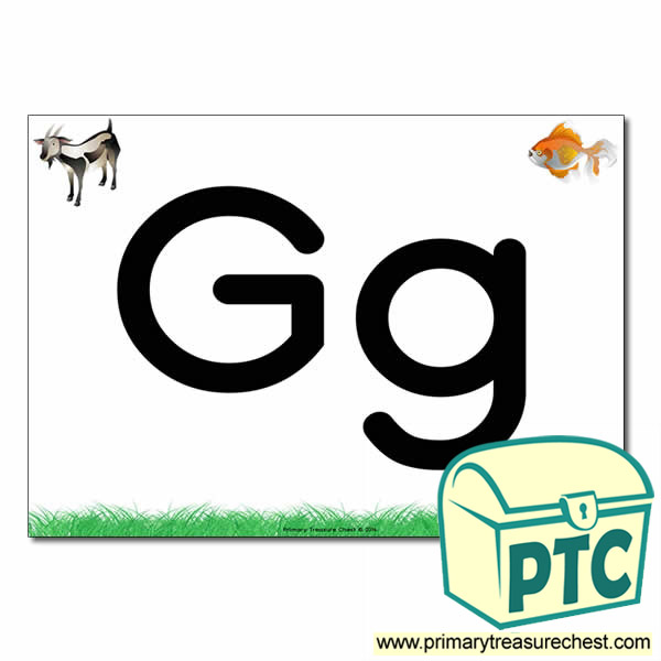 Letters Gg Poster Letters And Sounds Phonics