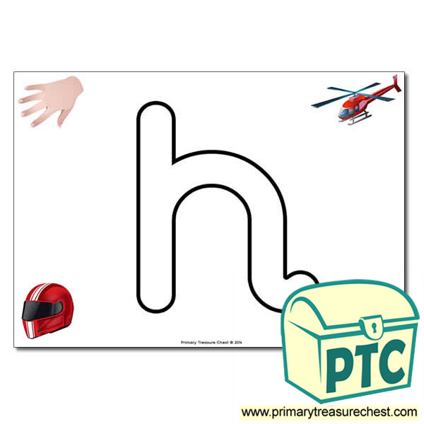 H Bubble Letter Formation Activity Phonics Letters And Sounds