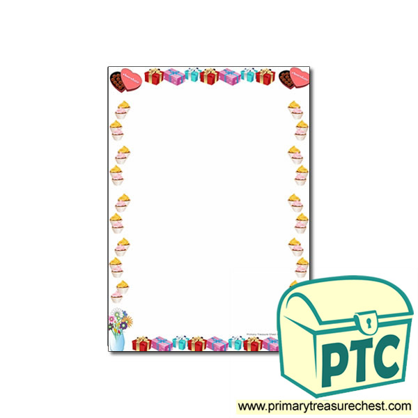 Classroom Ideas For Mothers Day ~ Mother s day page border with no lines primary treasure